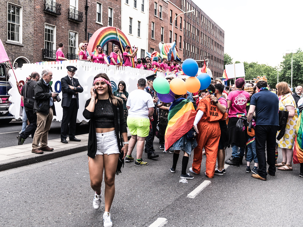 LGBTQ+ PRIDE PARADE 2017 [STEPHENS GREEN BEFORE THE ACTUAL PARADE]-129760