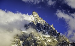 On the third morning, Caradhras rose before them, a mighty peak, tipped with snow like silver (venu prayag) Tags: chamonix mont blanc montblanc aiguilledumidi