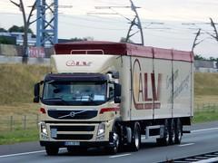 Volvo FM from CLAV Germany (capelleaandenijssel) Tags: wes vb 73 truck trailer lorry camin lkw