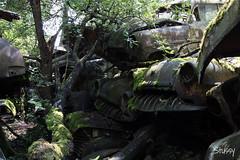 AS-1 (StussyExplores) Tags: austria scrapyard vintage cars teeth rust decay abandoned left behind vehicles explore exploration urebx