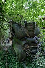 SP-9 (StussyExplores) Tags: austria scrapyard vintage cars teeth rust decay abandoned left behind vehicles explore exploration urebx