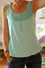 two-tone-top (Two_tango) Tags: nähen sewing jersey top tee crafting kleidung garments diy clothing shirt
