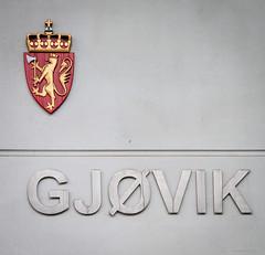 Gjøvik (Lars_Pistasj) Tags: norge norway løve riksløve riksvåpen law court tinghus gjøvik