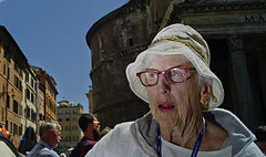 Pantheon surprise. (Baz 120) Tags: candid candidstreet candidportrait city candidface candidphotography contrast colour street streetphoto streetcandid streetphotography streetphotograph streetportrait rome roma romepeople romestreets romecandid europe urban voightlander12mmasph voightlander leicam8 leica life primelens portrait people unposed italy italia grittystreetphotography flashstreetphotography faces decisivemoment strangers
