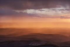Stormy Palouse Sunset (NikonDigifan) Tags: rain storm rainstorm sunset palouse palousehills steptoebutte backlit landscape easternwashington washington pacificnorthwest dusk niksoftware nikon nikond750 nikon28300 mikegassphotography