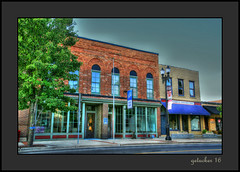 Bake Shop (the Gallopping Geezer '4.8' million + views....) Tags: building structure business store storefront mainstreet smalltown lowell mi michigan backroad backroads old canon 5d3 24105 geezer 2016 sign signs signage hdr processing photomatrix