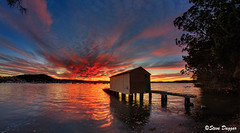 0S1A1968enthuse (Steve Daggar) Tags: saratoga sunset gosford nswcentralcoast waterscape landscape wharf boasthed