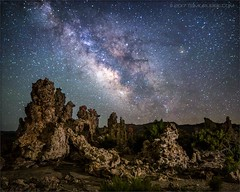 Mono Lake Milky Way Show (TomGrubbe) Tags: monolake stars milkyway tufa rockformations nightsky leevining easternsierras california