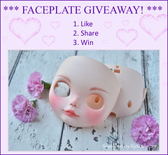 BlytheAdore faceplate giveaway!