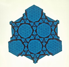Bird nest tessellation (mganans) Tags: origami tessellation