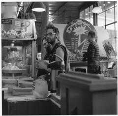 Daily Dozen (deardorff810) Tags: seattle pikeplace dailydozen hasselblad street market hp5