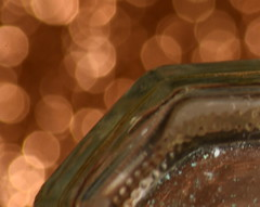 Shaker of Salt (AuntNett) Tags: macro bokeh nikon d7200 glass saltshaker 365 macromondays bottomsup