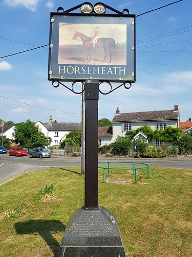 Horseheath Village Sign