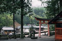Narai, Japan (inefekt69) Tags: japan narai street post town asia edo traditional nikon d5500 日本 奈良井 奈良井宿 naraijuku nakasendo torii gate shrine kisovalley tumblr