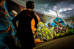 Running wild (CS_in_CS) Tags: runner streetphotography graffiti color athlete painting artist colour street art design illustration graphic sport fitness exercise motion man run drawing background athletic rough human training fast caricature sprinter speed person jogger cartoon sports running illustrations jogging streetart photingo 32 52of2017