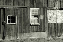 Side of the barn (billrock54) Tags: blackwhite unity architecture artistbillrockwell barn travel tranquillity bella surreal exhibition