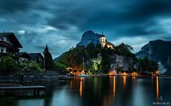 Hidden Gem (Wim Air) Tags: chappel salzkammergut traunsee lake water church rock austria upperaustria bernhard wimmer wimairat