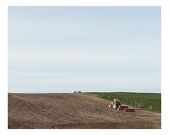 hébertville (Mériol Lehmann) Tags: sower landscape lacstjean fields agriculture sowing rural quebec tractor canada hébertville québec ca