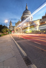 Waiting on the number 76 bus (R J Harris) Tags: longexposure slowshutter lighttrails london canon canon5dmk4