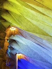 Sagrada Familia (Dell's Pics) Tags: sagrada familia barcelona temple catholic church basilica architecture stone angles olympus omd em5 sculpture