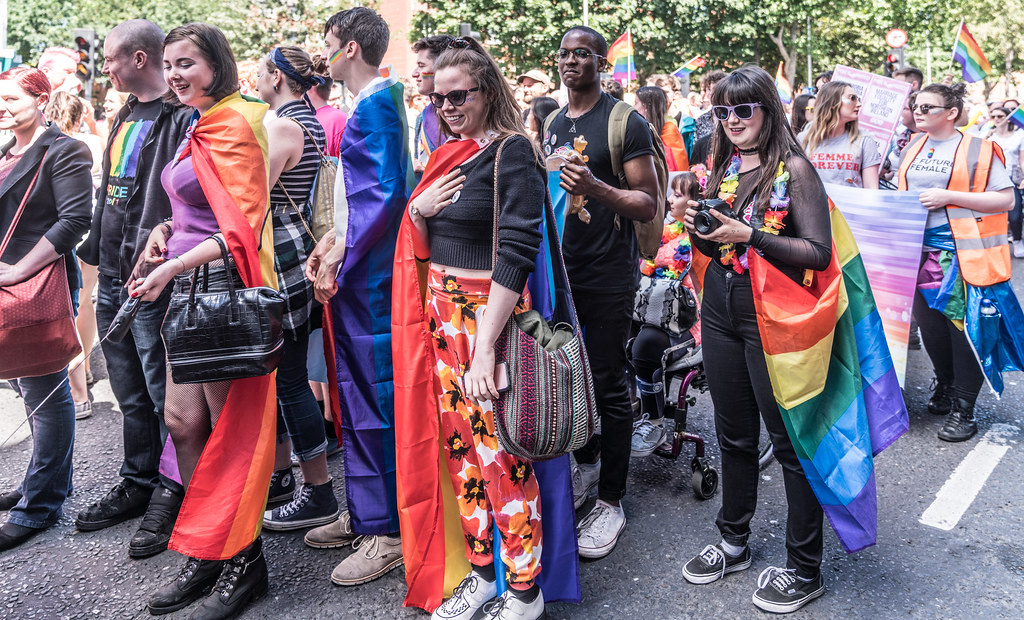 LGBTQ+ PRIDE PARADE 2017 [ON THE WAY FROM STEPHENS GREEN TO SMITHFIELD]-130056