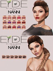 Erde @APPLIQUE (marshallhayleylittlewolf) Tags: make up lipstick eyeshadow appliers applique erde catwa cosmetic