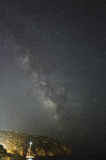 Milky Way over the med