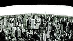 Panoramic View of Uptown in New York City, USA ([ PsycBob ]) Tags: sketch skizze bw black white schwarz weis zeichnung bleistift new york city skyline hochäuser skycraper art kunst drawing nyc newyork amerika us usa panorama uptown top rocks rockefeller center