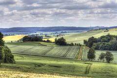 Farmer's Country (frank kr) Tags: landscape farm farmer landschaft felder fields clouds wolken hdr hessen deutschland germany 135mm canon 5dmk2