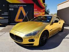 Maserati Gran Turismo S (apexcustoms) Tags: vinylwrap maserati maseratigranturismo grantrusimo cars customcars vinylwrapped powdercoating powdercoated automotive
