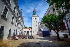 Palace in Szczecin, Poland (` Toshio ') Tags: toshio szczecin poland palace ducalpalace europe european europeanunion courtyard pomeranianpalace history castle tower fujixe2 xe2