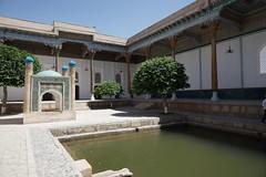 Sufi mosque, Baha ad-Din Naqshband, Bukhara (jozioau) Tags: mosque courtyard sufi bukhara variosonnart282470 pool tomb shrine