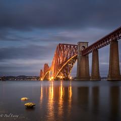 The Bridge on the Forth (Paul S Ewing) Tags: edinburgh forthrailbridge firth forth scotland uk bridge sunset