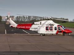 HM CoastGuard | AgustaWestland AW139 | G-SARE (Bradley at EGSH) Tags: aw139 agustawestland agustawestlandaw139 rotors helicopters vtol helicopter heli offshore norwichairport agusta egsh nwi norfolk canon70d norwich norwichinternationalairport rescue sar searchandrescue hmcoastguard gsare