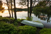 Boat in greenery (- David Olsson -) Tags: brattfors brattforsheden värmland sweden lake landscape lakescape seascape outdoor greenery oldboat trees plants reflection reflections mirrored sunset sundown evening late summer nikon d800 1635 1635mm 1635vr vr fx davidolsson 2017 june juni sommar leefilters 06hard gnd grad