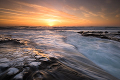 motion in the ocean (Andy Kennelly) Tags: seascape sunset san diego motion clouds light la jolla