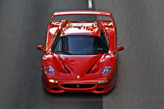 Ferrari, F50, Wan Chai, Hong Kong (Daryl Chapman Photography) Tags: ferrari f50 italian wanchai pan panning speed power v12 car cars auto autos automobile canon eos 1d mkiv is ii 70200l f28 road engine nice wheels rims hongkong china sar drive drivers driving fast grip photoshop cs6 windows darylchapman automotive photography hk hkg bhp horsepower brakes gas fuel petrol topgear headlights worldcars daryl chapman darylchapmanphotography