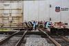 (o texano) Tags: houston texas graffiti trains freights bench benching wyse d30 dts defthreats a2m adikts