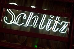 Schlitz (Thomas Hawk) Tags: billygoat billygoattaverngrill billygoatstaverngrill chicago chicagoland illinois schlitz usa unitedstates unitedstatesofamerica windycity bar beer neon restaurant fav10