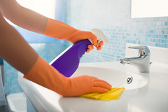 Home Cleaning Service In  Montclair |Eco-Way Cleaning & Organizing Solutions (Ecowaygreennjservice) Tags: cleaning chores woman housekeeping housemaid housewife housework active applying basin bathroom cleaner cleanser countertop cropped detergent domestic faucet female gloves hands home house hygiene lady lifestyle maid one pad people person rag restroom rubber sink soap spray tap washbasin white women working