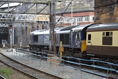 "Direct Rail Services Class 66/4, 66432 (37190 ""Dalzell"") Tags: drs directrailservices revised compass gm generalmotors dred class66 class664 66432 bls branchlinesociety thecatanddock therailwaychildren chartertrain railtour limestreet liverpool"