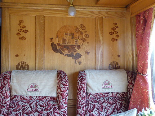 Belmond Northern Belle Interior Glamis
