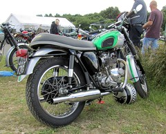 Barnsley Motorcycle Festival 25.6.2017 (17) (bebopalieuday) Tags: barnsleymotorcyclefestival wombwell karttrack theshowwithgo triumph 500cc daytona supersports 1969 classicbike motorbike motorcycle southyorkshire