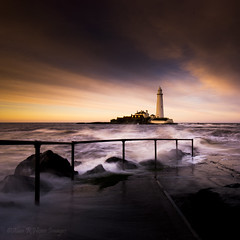 St Mary's lighthouse whitley bay (AlanHowe :)) Tags: st marys lighthouse whitley bay