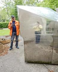 Me and you (Antropoturista) Tags: belgium liège luik lüttich sarttilman reflection distortion openairmuseum muséeenpleinair museumsgoer inexplore