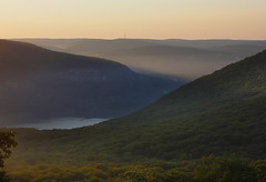 Early Melon Delicacy (AnaFas) Tags: nature ny newyork land light color sunrise statepark nystatepark mountain