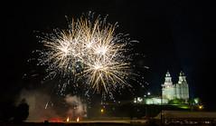 4th of July fireworks in Manti Utah (Flickr_Rick) Tags: outside summer fireworks mantildstemple manti utah