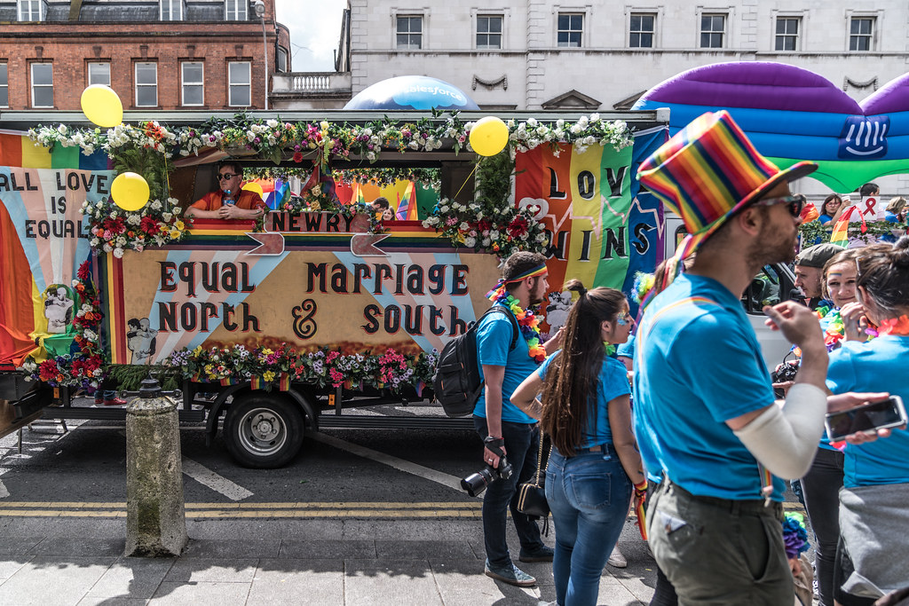 LGBTQ+ PRIDE PARADE 2017 [STEPHENS GREEN BEFORE THE ACTUAL PARADE]-129826