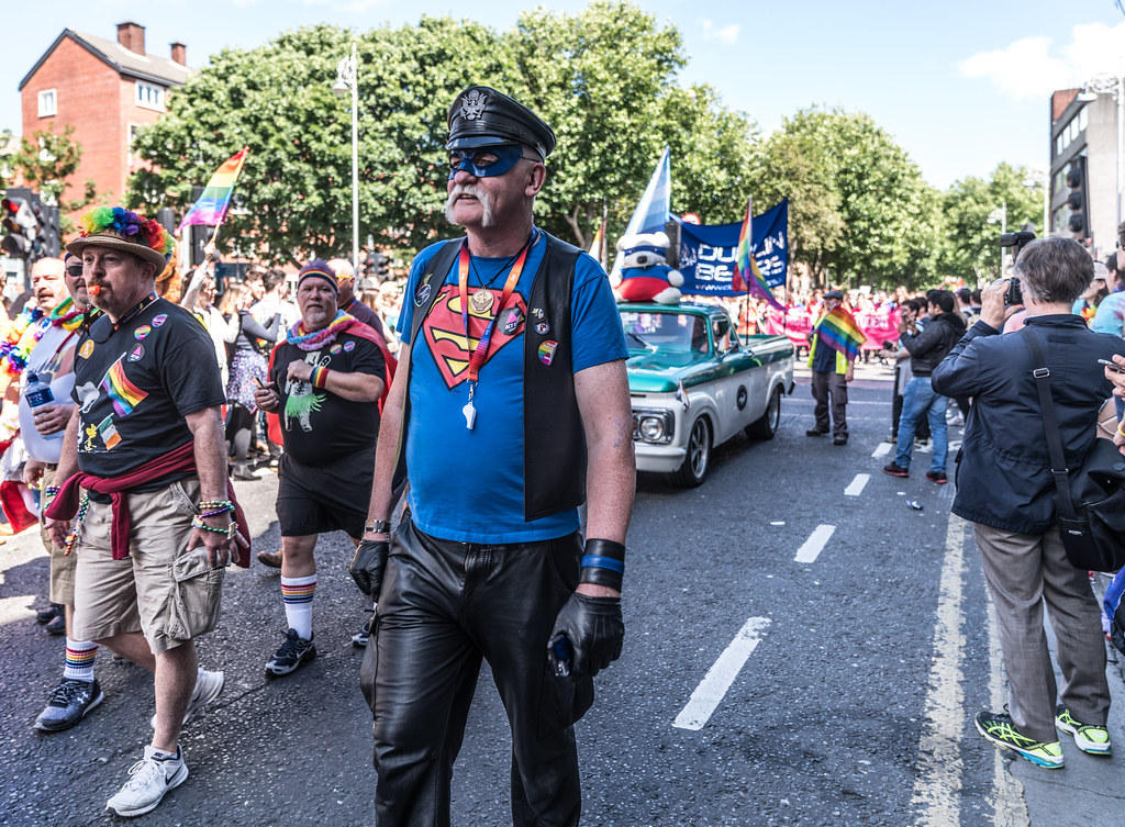 LGBTQ+ PRIDE PARADE 2017 [ON THE WAY FROM STEPHENS GREEN TO SMITHFIELD]-130040