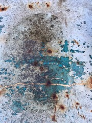 jackson's pollocks 2017. remnant puddle of rain. coating tempura. bluish shadow cold white balance. pastels. forever rust. grabouwesque. weskaap (francois f swanepoel) Tags: blue blou weskaap rust roes abstrak abstract jp jacksonpollock water rain rëen tekstuur texture